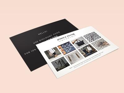 Postcards for Jessica Necor Studio