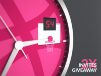 2x Dribbble Invites Giveaway #1