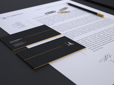 JQ : Stationery business cards corporate identity visual stationery logo identity design cd branding 3d