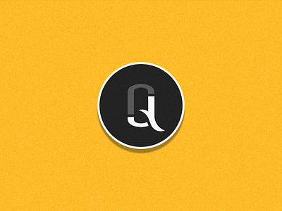 JQ'DS Sticker freebie minimalist monogram playoffs giveaway logo design identity sticker branding symbol mark logo
