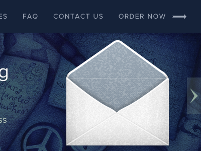 Custom envelope envelope icon fireworks