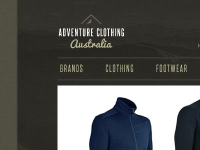 Clothing Store branding logo clothing store ecommerce outdoors