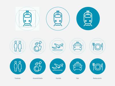 Icons ADDIN viagens