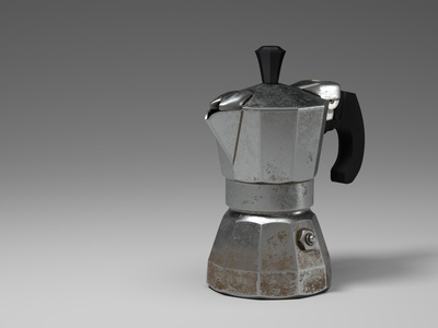 Moka Pot ( Vintage coffee maker )