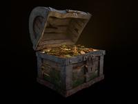 Treasure chest ( gold )