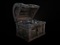 Treasure chest ( silver )