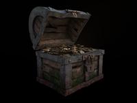 Treasure chest ( bronze )