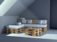 Euro Pallet Furniture ( Coach )