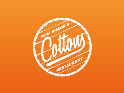 Cottons Restaurant Logo Design