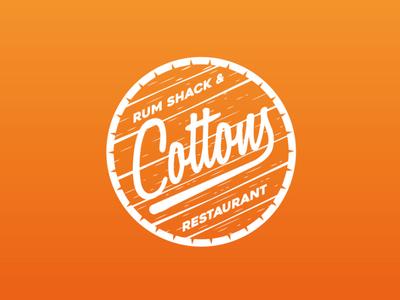 Cottons Restaurant Logo Design