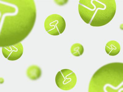 Tennis Ball Digital Art