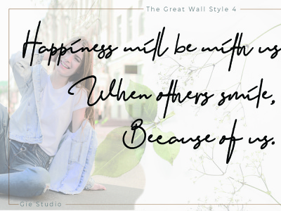 The Great Wall Font signature font handwritten font font