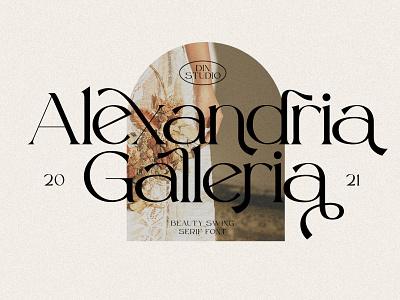 Beauty Swing - Elegant Serif font elegant display modern logo fonts font design font design movie branding