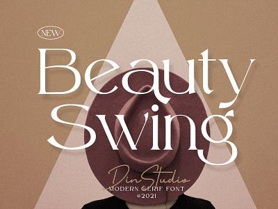 Beauty Swing - Elegant Serif Font display millenial elegant modern sweet logo fonts animation design movie font branding
