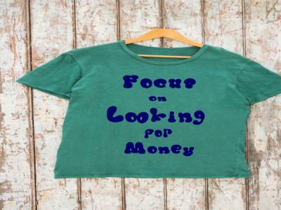 """T-shirt """" chubby font """""""