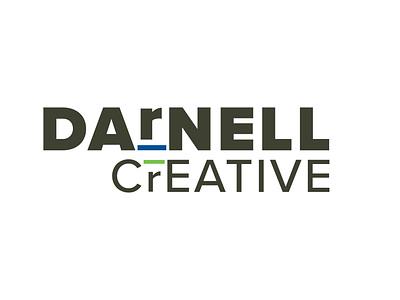 Darnell Creative Logo logo minimal illustration typography vector design branding logo design