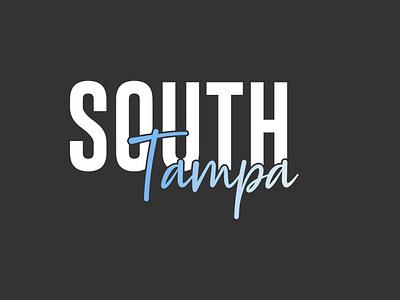 South TPA Branding lettering illustrator vector typography minimal logo design logo illustration design branding