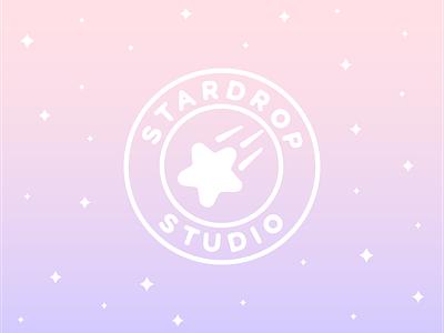 Stardrop Studio   Logo Design icon design illustrator star logo design logo icon