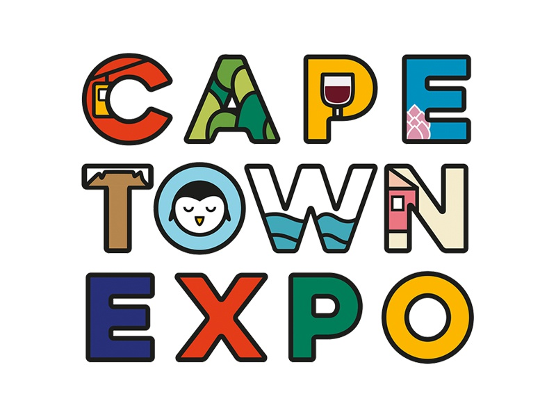 Cape Town Expo icon africa cape town illustration identity branding