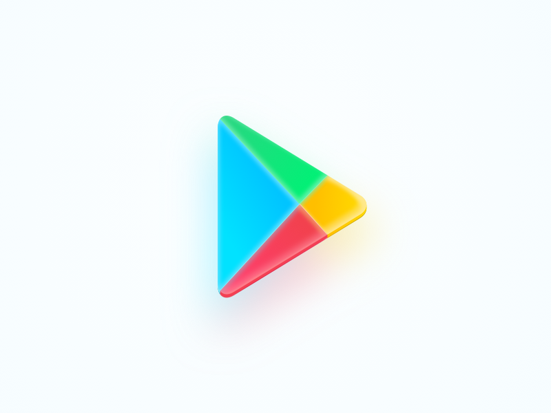 Google Play icon store play android redesign googleplay google