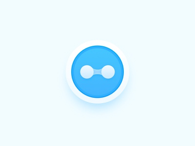Little World icon blue macos icon