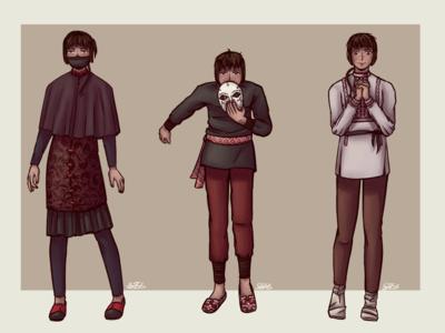 Character design QS