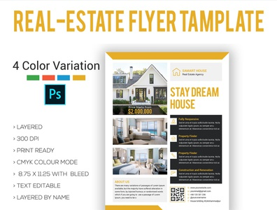 Real-Estate  Flyer Template