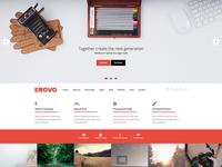 EROVO - Responsive Multipurpose WordPress Theme