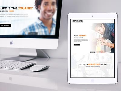 deVOX50 - Multipurpose WordPress Theme theme wordpress
