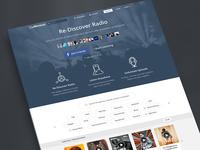 Mixcloud Homepage