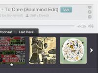 Mixcloud Player