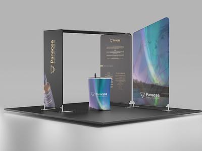 Panacea Exhibition stand design branding