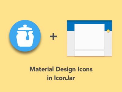 Material Design Icons in IconJar