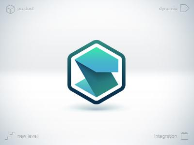 Service Management Platform service management platform new level product software soft logo s hexagon cube