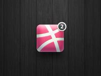 """""""2 dribbble invites"""" icon"""