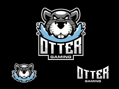 otter vector logodesigners design esport animation characterdesign mascot illustration character branding