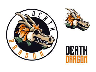 death dragon apparel dragon esport vector design logodesigners animation characterdesign mascot illustration character branding