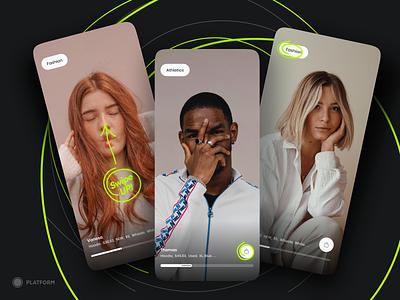Video Marketplace design ui iphone fashion fashion app shop