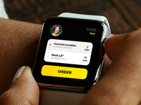 The Club Hopin ui taxi lightingbeetle concept apple app watch