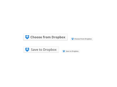 Dropbox Drop-ins Buttons icon dropbox button retina stroke gradient psd freebie input open sans