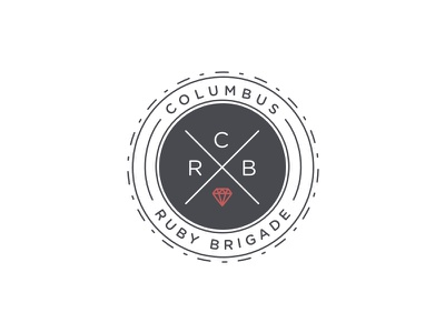 CRB gotham gem slant italic brigade ruby columbus