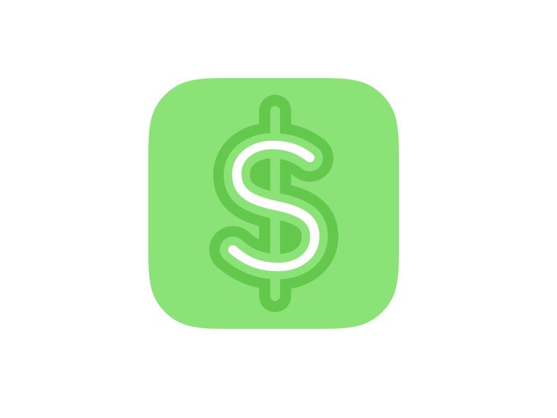 Stakes Icon dollar money icon mobile