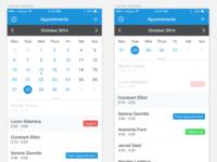 Calendar App Tracking