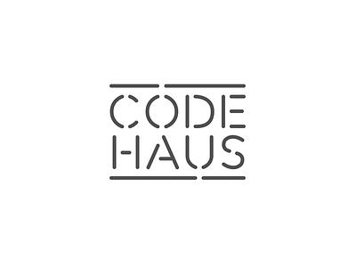 Dev consultancy branding code sign line logo brand brick