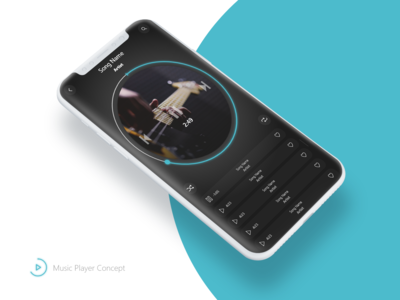 Music Player App - Concept
