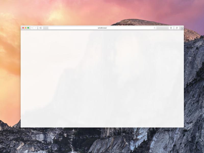 Safari Browser For Figma By Volodymyr Sadykov Dribbble Dribbble