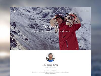 Portfolio: Option B portfolio personal redesign