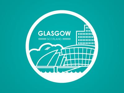 Glasgow City Badge glasgow