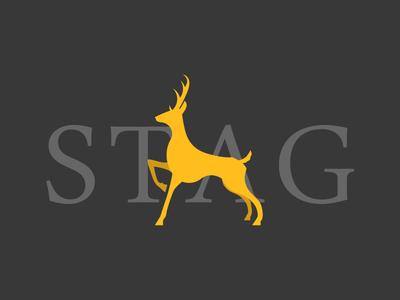 Scottish Stag scottish stag deers icon scotland gold