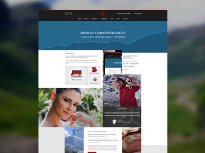 Loudon Design web design portfolio loudon design
